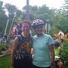 Linda and Laura at the second SAG stop before we part ways.