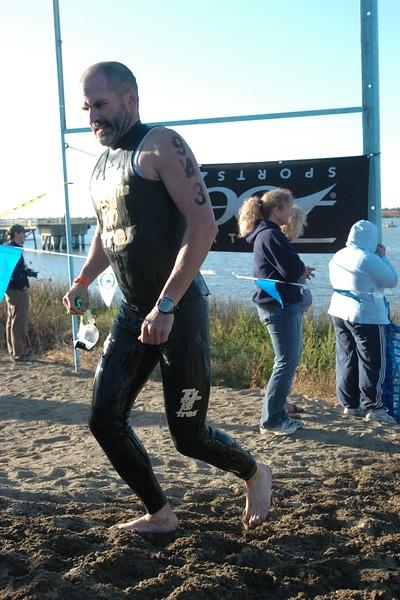 Caliman Half Iron swim