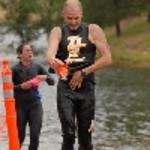 Caliman Half Iron swim 1