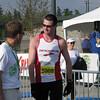 Men's 1/2 Marathon winner Steve Dekoker Eugene 2008
