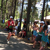 Steve finishing the olympic duathlon