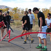 Fort Collins Composite Team helps with course break down.