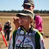 Kate Rau at start line.