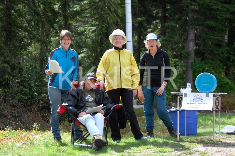 Hollyburn Lodge Aid Station Volunteers