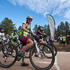 JV Durango Composite racer Robin Austin looks relaxed, but ready, at the start line. Photo Carrie Dittmer.