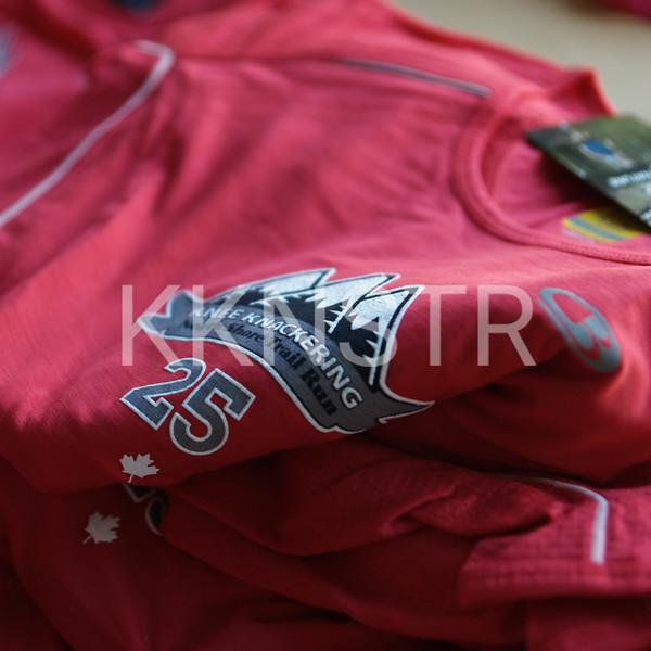 25th Anniversary Female Runner's Shirt