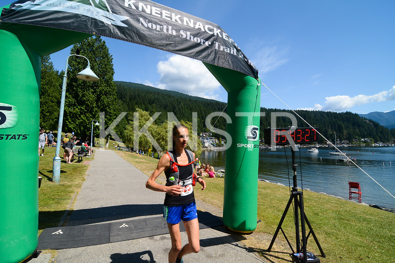 Kim Magnus 3rd female runner