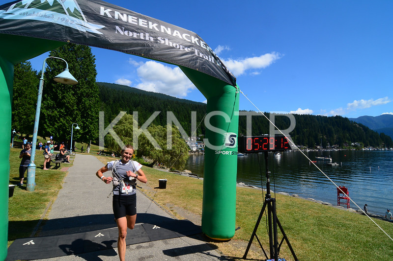 Ann Lanari first female runner