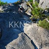 Climb towards Eagle Bluffs
