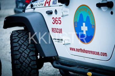 North Shore Rescue volunteering at the Knee Knacker