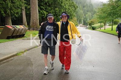 Cleveland Dam volunteers.  Photo by VFK.