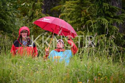 Cypress course marshal volunteers.  Photo by Salvador Miranda.