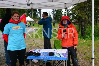 Cypress aid station volunteers.  Photo by Salvador Miranda