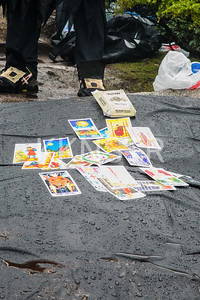 Tarot card reading available for weary runners
