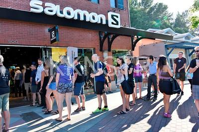 Lineup at West Vancouver Salomon