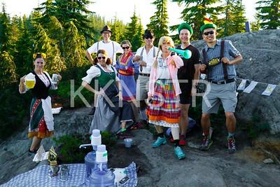 Black Mt Biergiertan Volunteers.  Photo by John Reynolds