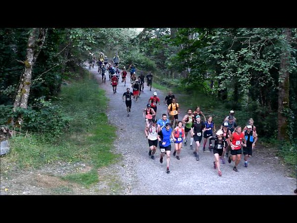 Video from 100m after the Start line at Nelson Canyon Park