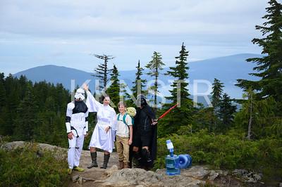 Dark Side of Black Mountain volunteers.