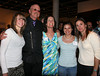 Student Athlete speaker Lindsay Dye, Gary Fisher, Kate Rau, Arianna Dittmer, and Carrie Dittmer.<br /> Photo by Lory Dye.