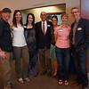 Yeti Beti crew with MC Larry Grossman and Chris Conroy, Yeti President.