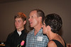 Alex Willie, Lyons rider, Steve Noel, Fairview Coach and Portia Noel. Photo Rob Noble.