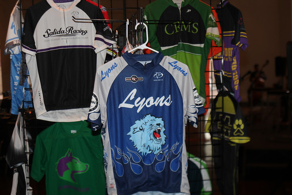 Team Jersey display. Photo Rob Noble.