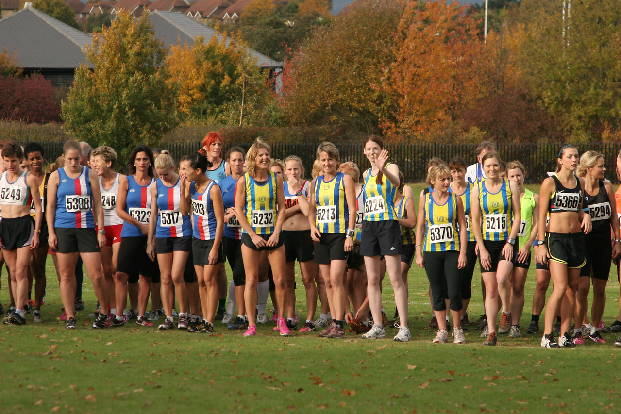 Kent Cross Country League - Somerhill Park, Tonbridge 29 October 2011