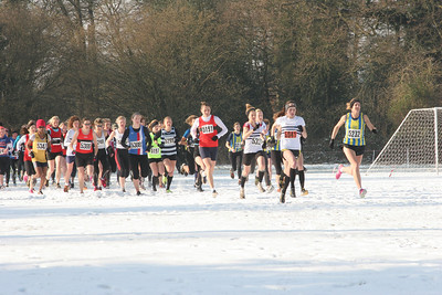 Kent Cross Country League Final - Swanley, 11 February 2012