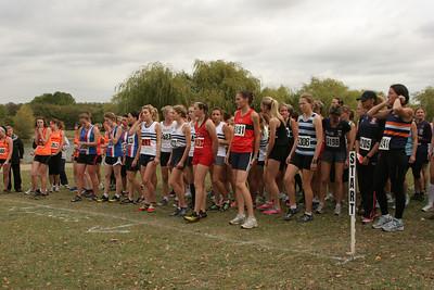 Kent Cross Country League - Swanley, 8 October 2011