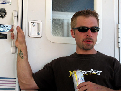 chillin' after the grizzly harescramble