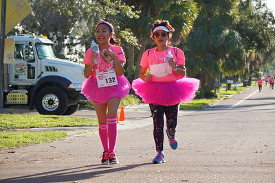 Glam 5K Run, Oct 8, 2016