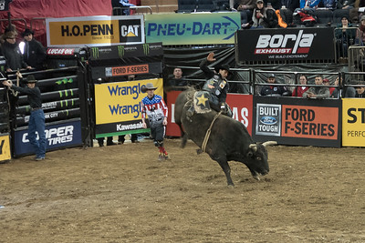 PBR Madison Square Garden Buck Off 01/06/18
