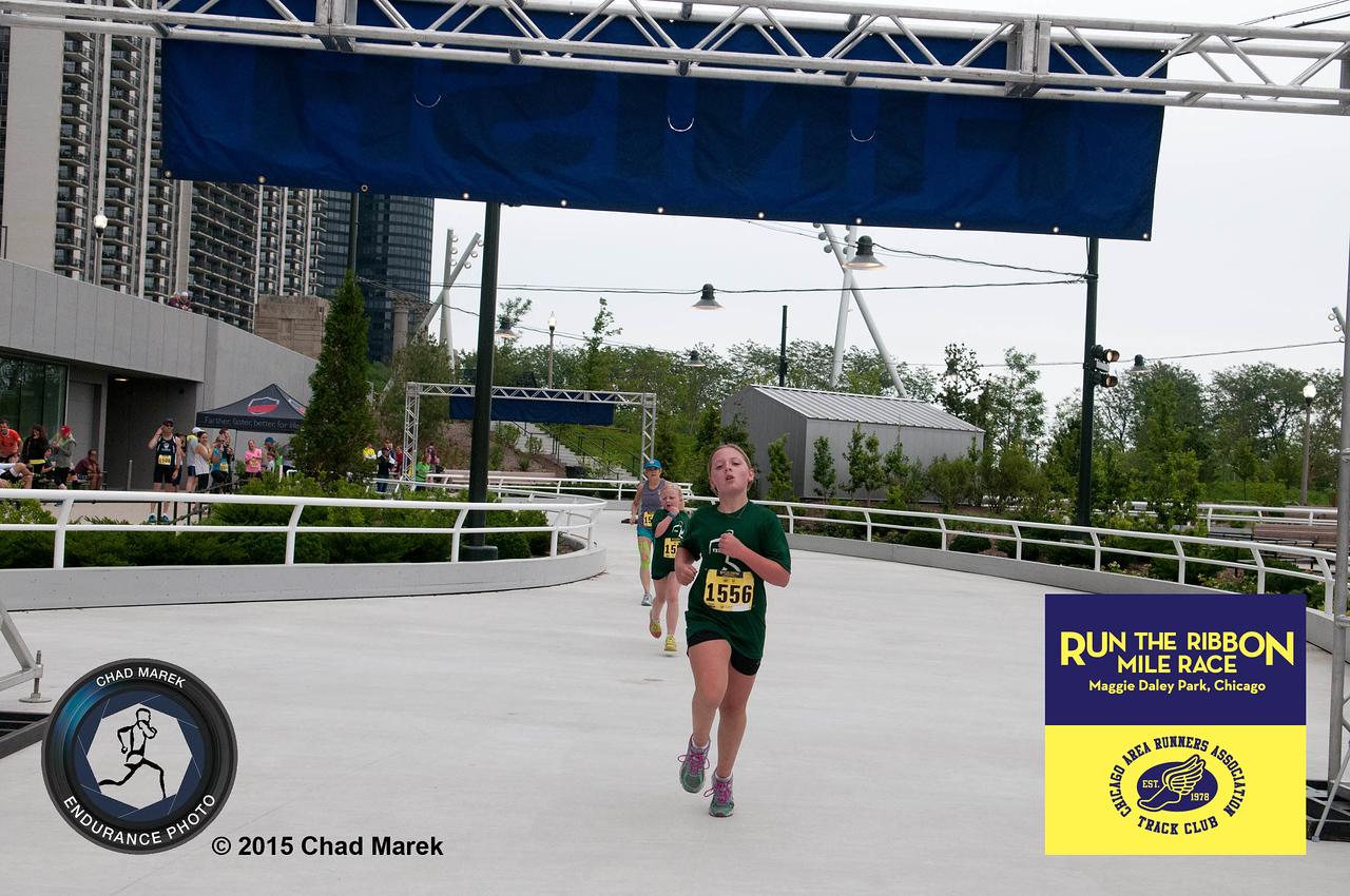 2015 Run the Ribbon Mile  Race