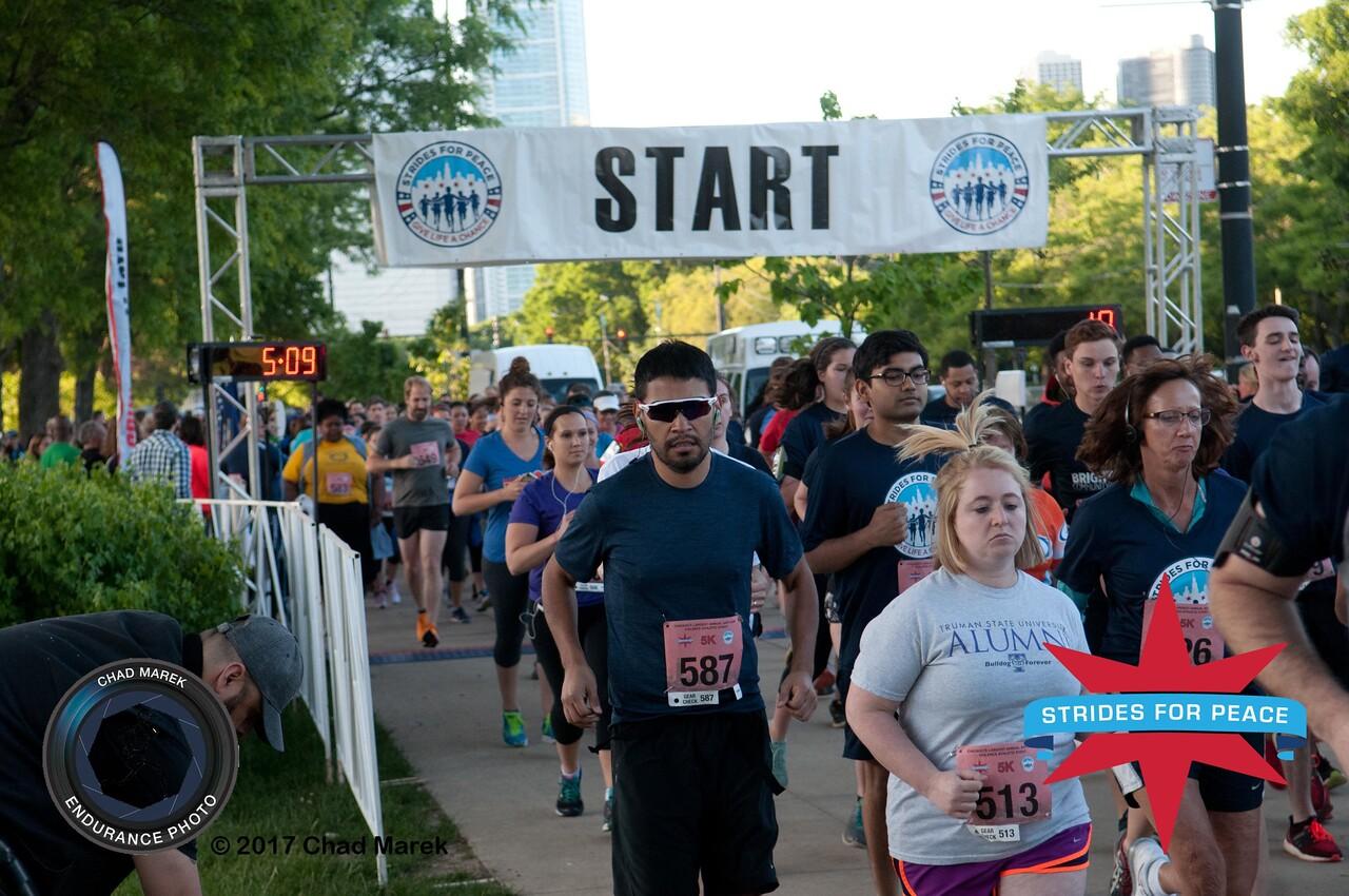 2017 Strides for Peace Run / Walk