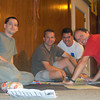 Team GMARA: Support crew John, Jim, Tim, Geoff