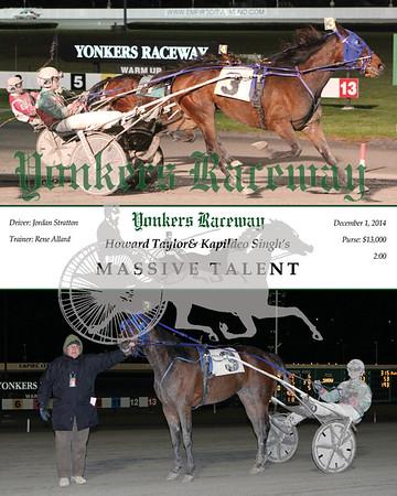 20141201 Race 11- Massive Talent