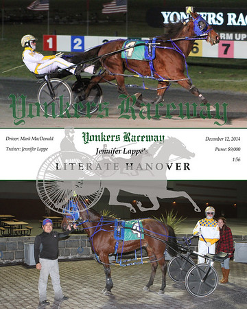 20141212 Race 4- Literate Hanover