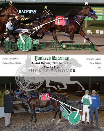 20141213 Race 8- Mickey Hanover