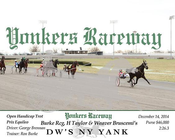 20141214 Race 1- DW's NY Yank