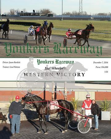 20141207 Race 11- Western Victory