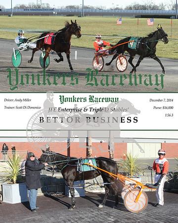 20141207 Race 9- Bettor Business