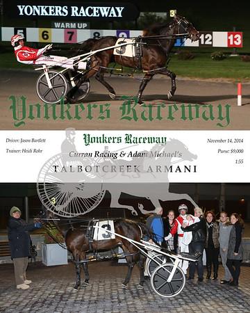 20141114 Race 4- Talbotcreek Armani
