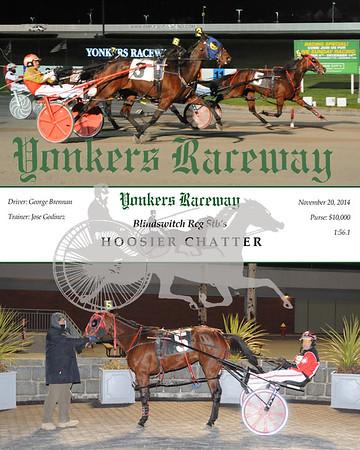 20141120 Race 6-Hoosier Chatter