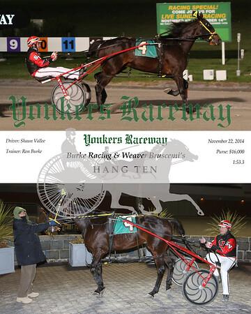20141122 Race 1- Hang Ten