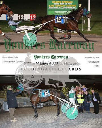 20141122 Race 8- Holdingallthecards