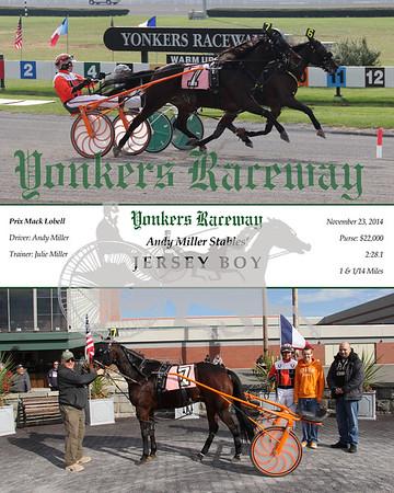 11232014 Race 2 - Jersey Boy
