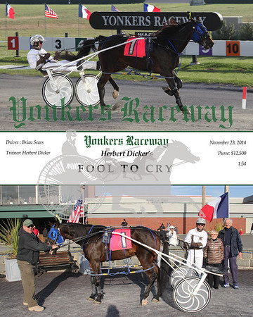 11232014 Race 8 - Fool To Cry