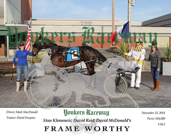 11232014 Race 9 - Frame Worthy