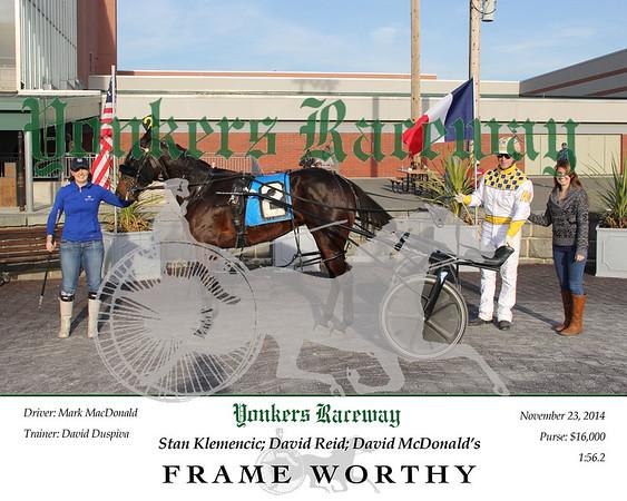 11232014 Race 9 - Frame Worthy