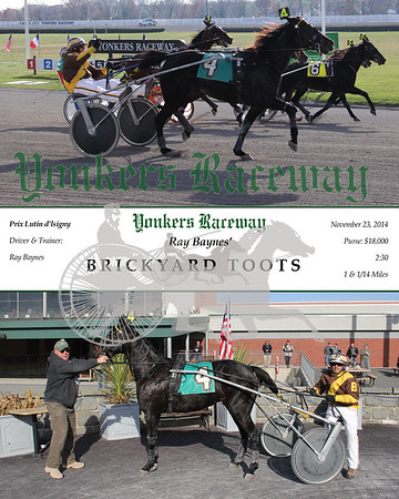 11232014 Race 5 - Brickyard Toots